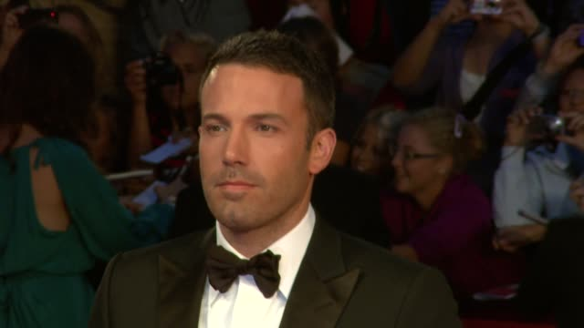 67th venice film festival at venice - ben affleck stock videos & royalty-free footage