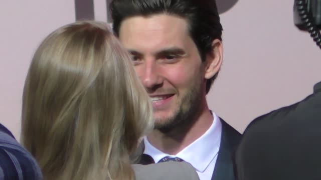 ben barnes outside the westworld season 3 premiere at tcl chinese theatre in hollywood in celebrity sightings in los angeles - mann theaters stock videos & royalty-free footage