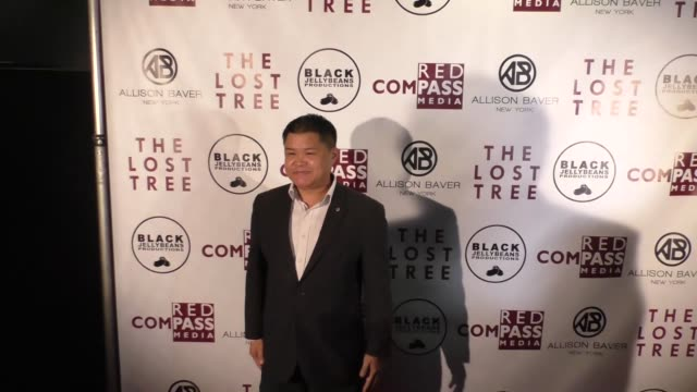 ben chan at the 'the lost tree' screening at tcl chinese 6 theatres on october 09 2017 in hollywood california - the lost tree stock videos and b-roll footage