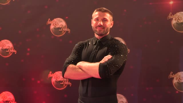ben cohen at strictly come dancing at elstree studios on september 03 2013 in borehamwood england - ハートフォードシャー点の映像素材/bロール