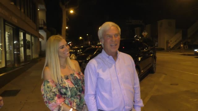 interview ben crenshaw comments on tiger woods the pga championship donald trump outside craig's in west hollywood in celebrity sightings in los... - tiger woods stock videos & royalty-free footage