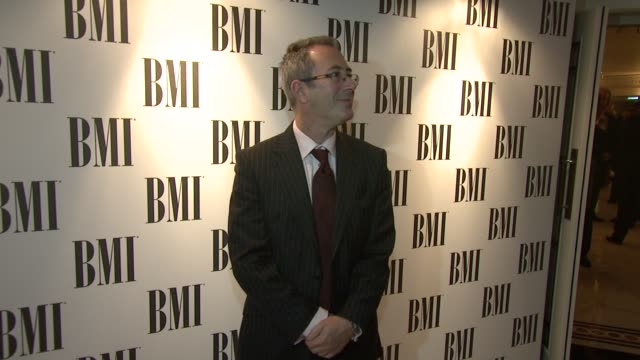 ben elton at the bmi awards at london england - ben elton stock videos and b-roll footage