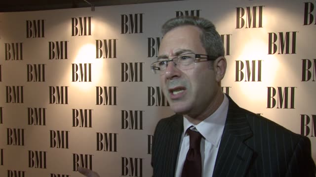 ben elton on what makes queen such good songwriters at the bmi awards at london england - ben elton stock videos and b-roll footage