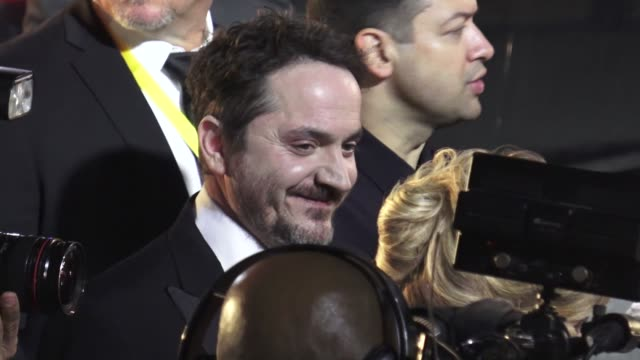 ben falcone at the 30th annual palm springs international film festival awards gala in palm springs in celebrity sightings in palm springs, - ben falcone stock videos & royalty-free footage