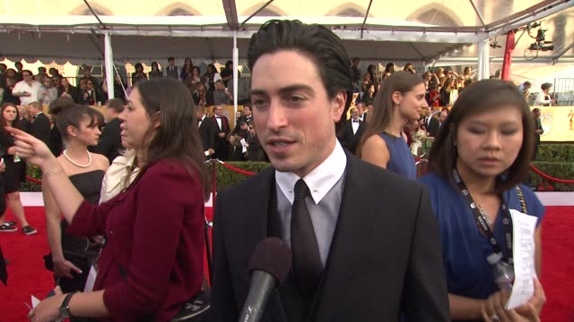 INTERVIEW Ben Feldman on what it means to him to celebrate with his peers his favorite TV shows and movies right now how he got his SAG card at 19th...