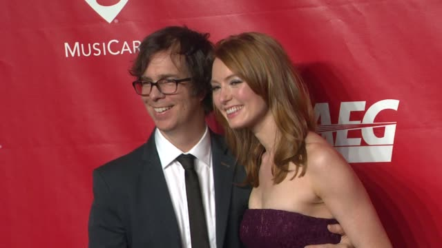ben folds and alicia witt at 2014 musicares person of the year honoring carole king at los angeles convention center on in los angeles california - musicares foundation stock videos & royalty-free footage
