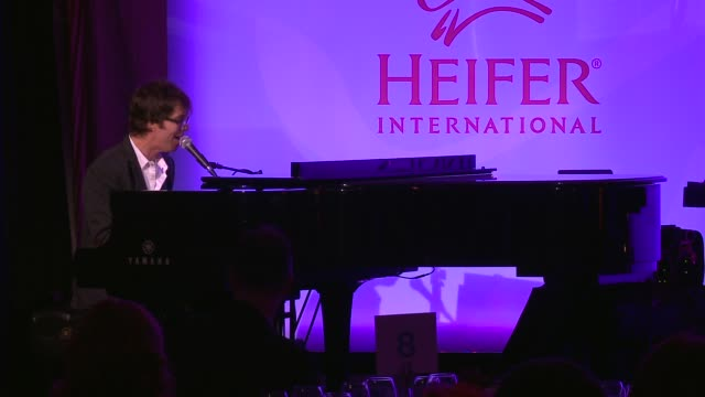 ben folds heifer international hosts 3rd annual beyond hunger a place at the table gala at montage beverly hills on august 22 2014 in beverly hills... - montage beverly hills stock videos & royalty-free footage