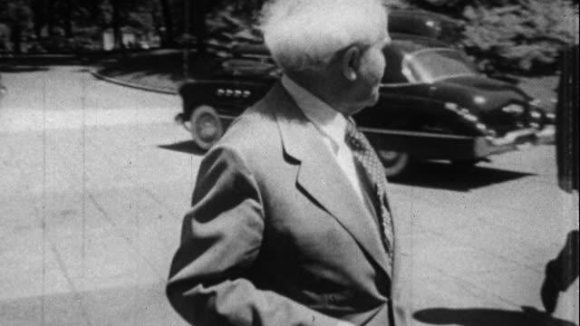 ben gurion meets harry s truman in washington in 1951 - 1951 stock videos & royalty-free footage