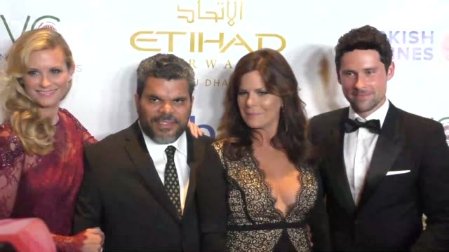 Ben Hollingsworth Marcia Gay Harden Luis Guzman and Bonnie Somerville at the 6th Annual Face Forward Gala at the Millennium Biltmore Hotel Los...