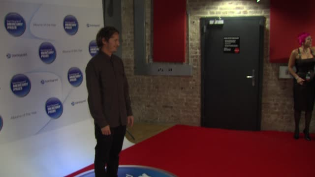 ben howard at barclaycard mercury music prize 2012 at the roundhouse on november 01, 2012 in london, england - mercury music prize stock-videos und b-roll-filmmaterial