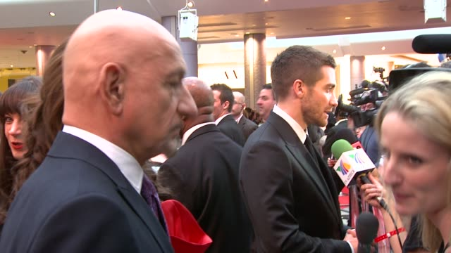Ben Kingsley and Jake Gyllenhaal at the Prince of Persia Premiere UK at London England