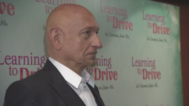 Ben Kingsley at 'Learning to Drive' Gala Screening at The Curzon Mayfair on June 02 2016 in London England