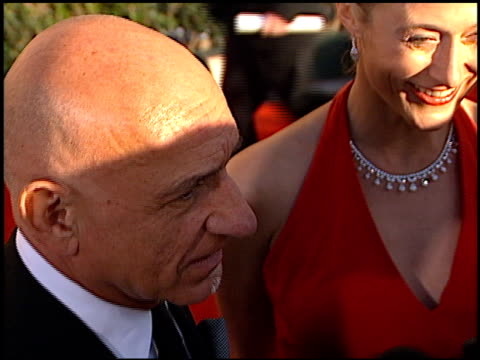 ben kingsley at the 2002 screen actors guild sag awards at the shrine auditorium in los angeles california on march 10 2002 - ben kingsley stock videos & royalty-free footage