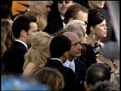 Ben Kingsley at the 2004 Academy Awards Arrivals at the Kodak Theatre in Hollywood California on February 29 2004