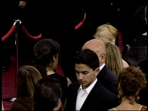 ben kingsley at the 2004 academy awards arrivals at the kodak theatre in hollywood california on february 29 2004 - ben kingsley stock videos and b-roll footage