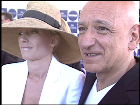 ben kingsley at the 2004 independent spirit awards at santa monica pier in santa monica california on february 28 2004 - ben kingsley stock videos & royalty-free footage