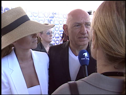 ben kingsley at the 2004 independent spirit awards at santa monica pier in santa monica california on february 28 2004 - ben kingsley stock videos and b-roll footage