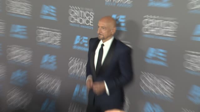 ben kingsley at the 20th annual critics' choice awards at hollywood palladium on january 15 2015 in los angeles california - ben kingsley stock videos & royalty-free footage