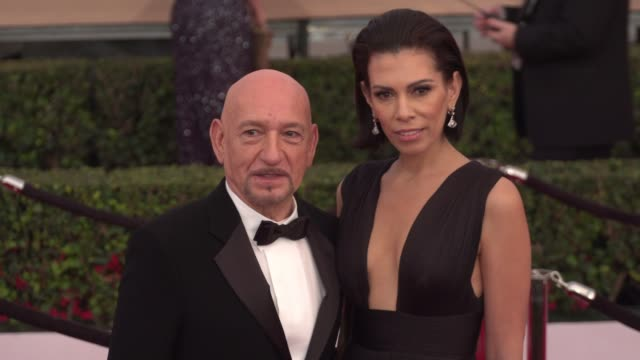 Ben Kingsley at the 22nd Annual Screen Actors Guild Awards Arrivals at The Shrine Auditorium on January 30 2016 in Los Angeles California 4K