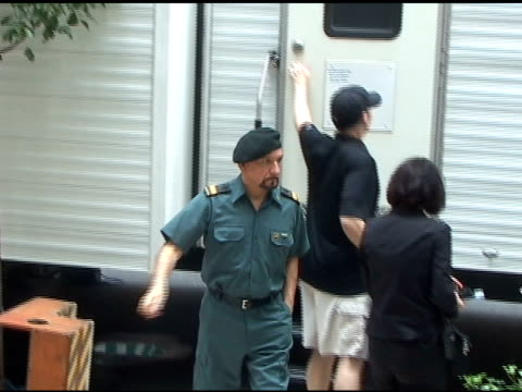 ben kingsley makes his way to the set of 'the dictator' in new york 07/06/11 - ben kingsley stock videos and b-roll footage