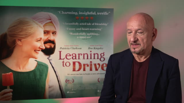 interview ben kingsley on immigration the changing world at 'learning to drive' interviews on june 03 2016 in london england - ben kingsley stock videos and b-roll footage