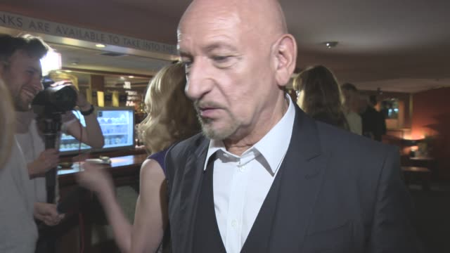 INTERVIEW Ben Kingsley on working with a female director Isabel Coixet his character being more than just a taxi driver having his own production...