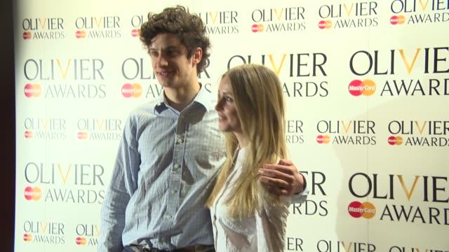 BROLL Ben Millar Diana Vickers James Musgrave Rosalie Craig Leigh Zimmerman Nigel Harmen Anna Chancellor at The Laurence Olivier Awards nominees...
