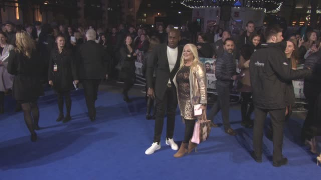 ben ofoedu, vanessa feltz at 'another mother's son' - world premiere at odeon leicester square on march 16, 2017 in london, england. - vanessa feltz stock videos & royalty-free footage