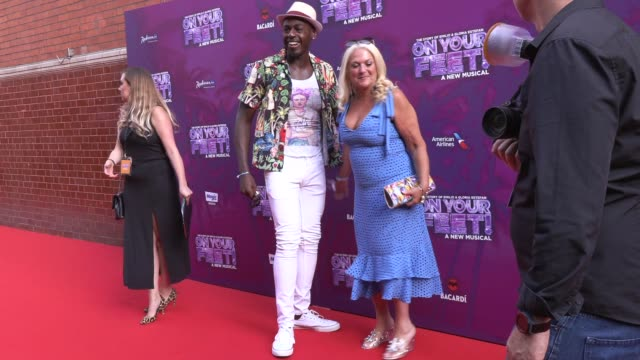 ben ofoedu, vanessa feltz at the london coliseum on june 27, 2019 in london, england. - vanessa feltz stock videos & royalty-free footage