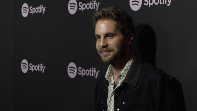 ben platt at the spotify's best new artist 2019 party at hammer museum on february 7, 2019 in los angeles, california. - spotify stock videos & royalty-free footage