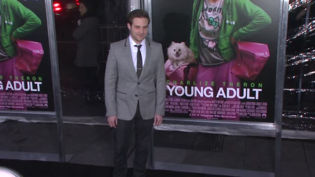 Ben Rappaport at 'Young Adult' World Premiere Arrivals Red Carpet New York NY United States