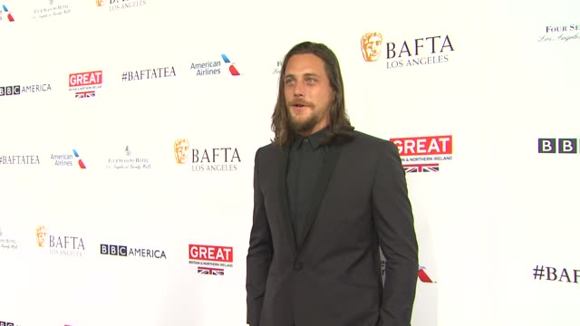ben robson at the bafta los angeles awards season tea party at four seasons hotel los angeles at beverly hills on january 09 2016 in los angeles... - tea party stock videos and b-roll footage