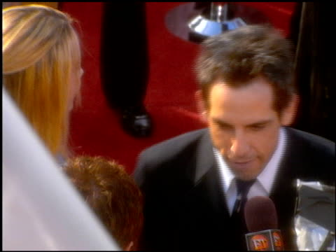 Ben Stiller at the 2001 Academy Awards at the Shrine Auditorium in Los Angeles California on March 25 2001