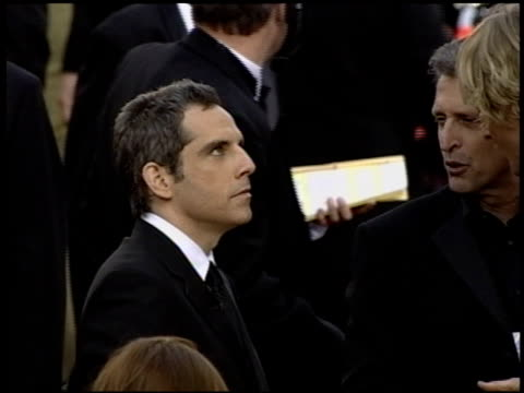 Ben Stiller at the 2004 Academy Awards Arrivals at the Kodak Theatre in Hollywood California on February 29 2004