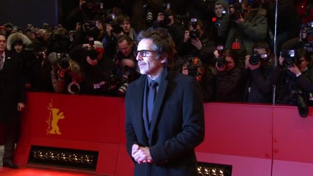 ben stiller at the greenberg premiere: 60th berlin film festival at berlin . - ゴーティー点の映像素材/bロール