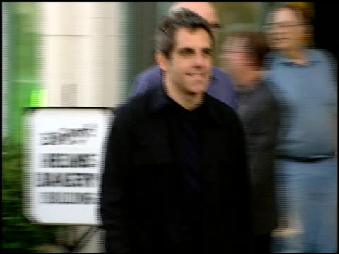 ben stiller at the performance of woody allen playing clarinet at jazz bakery in los angeles california on august 7 2001 - clarinet stock videos & royalty-free footage