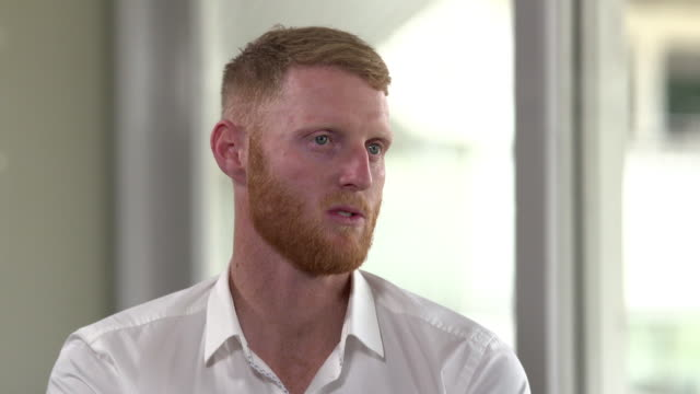 ben stokes saying he is ok with being in the media but finds it disgusting when his family are written about - cricket stock videos & royalty-free footage