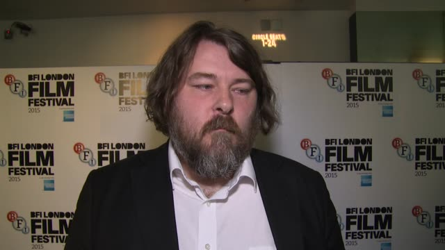 interview ben wheatley on budgeting modern day comparisons and tom hiddleston at odeon leicester square on october 09 2015 in london england - odeon leicester square stock videos and b-roll footage