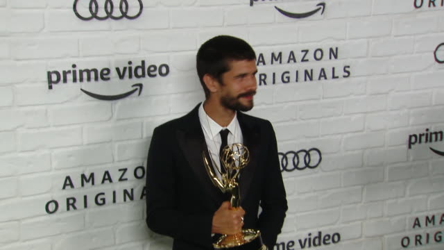 ben whishaw at amazon prime video post emmy awards party 2019 at chateau marmont on september 22, 2019 in los angeles, california. - ben whishaw stock videos & royalty-free footage