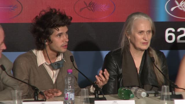 ben whishaw on being everyday in his performance at the cannes film festival 2009:bright star press conference at cannes . - ben whishaw stock videos & royalty-free footage