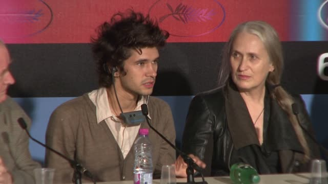 ben whishaw on growing to love his character in the film. at the cannes film festival 2009:bright star press conference at cannes . - ben whishaw stock videos & royalty-free footage