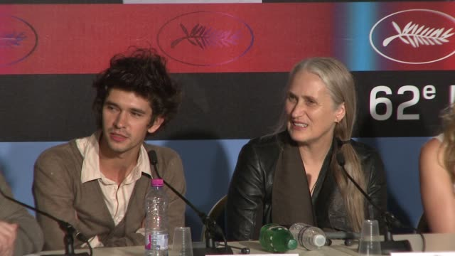 ben whishaw on the humorous side of keats and interview jane campion on why people wanted to be around keats at the cannes film festival 2009:bright... - ben whishaw stock videos & royalty-free footage