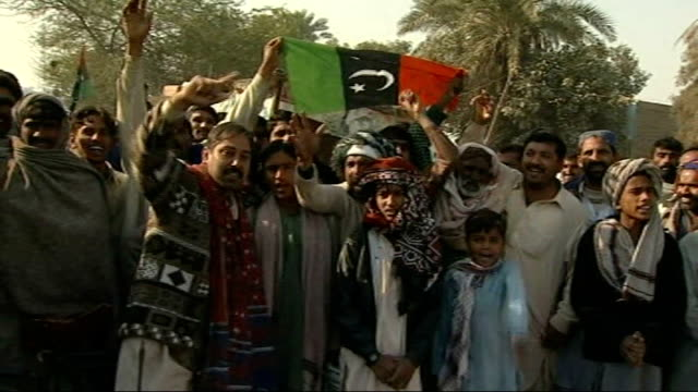 son bilawal named as her successor bhutto supporters chanting angrily sot - nachfolger stock-videos und b-roll-filmmaterial