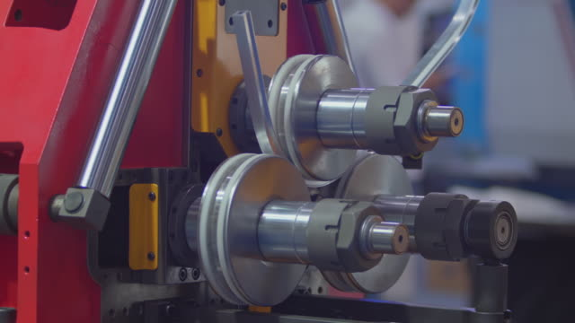 bending machine. - rolling stock videos & royalty-free footage
