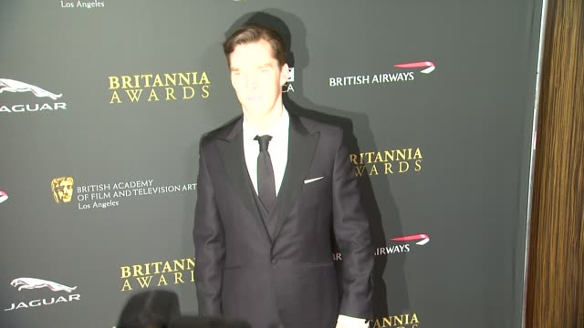 benedict cumberbatch at 2013 bafta los angeles jaguar britannia awards presented by bbc america in beverly hills, ca, on . - benedict cumberbatch stock videos & royalty-free footage