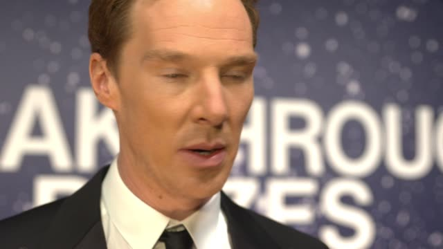 benedict cumberbatch at 2nd annual breakthrough prize award ceremony on november 09, 2014 in mountain view, california. - benedict cumberbatch stock videos & royalty-free footage