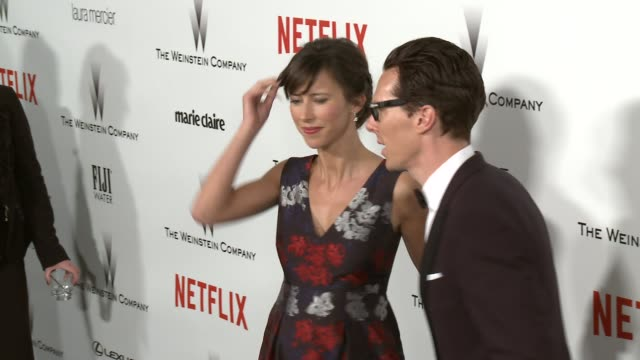 Benedict Cumberbatch at the 2015 Weinstein Company And Netflix Golden Globe After Party at Robinsons May Lot on January 11 2015 in Beverly Hills...