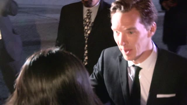 Benedict Cumberbatch at the 26th Annual Palm Springs Awards in Palm Springs in Celebrity Sightings in Los Angeles