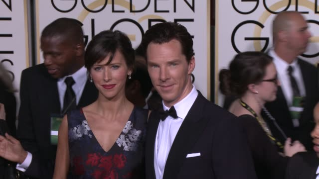 Benedict Cumberbatch at the 72nd Annual Golden Globe Awards Arrivals at The Beverly Hilton Hotel on January 11 2015 in Beverly Hills California