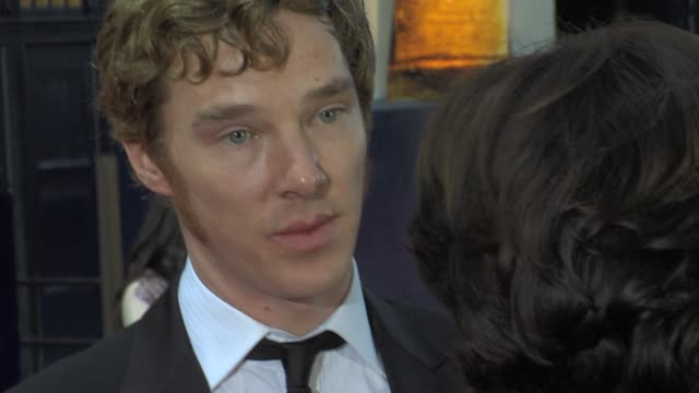 Benedict Cumberbatch at the Olivier Awards at London England